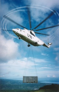 Baucau UN container lift