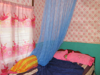 Basic bedroom in Timor